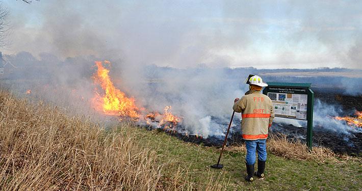 Grasslands Burn 2017